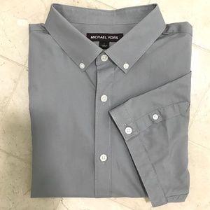 Michael Kors Short Sleeve Button Down - L